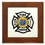 Firefighter Energy Framed Tile