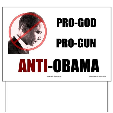 Pro-God Pro-Gun - Yard Sign