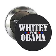 "Whitey for Obama 2.25"" Button (100 pack)"