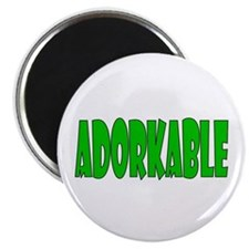 "Adorkable 2.25"" Magnet (100 pack)"