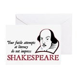 Shakespeare Literacy Greeting Cards (Pk of 10)