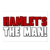 Hamlet's The Man! Postcards (Package of 8)