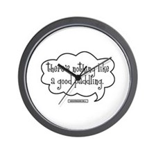 Cute Paddling Wall Clock