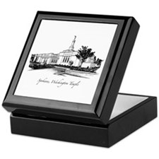 Spokane, Washington Temple 2 Keepsake Box
