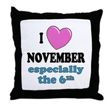 PH 11/6 Throw Pillow