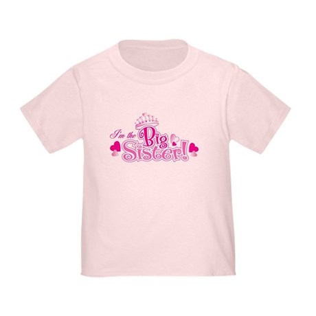 I'm The Big Sister Toddler T-Shirt