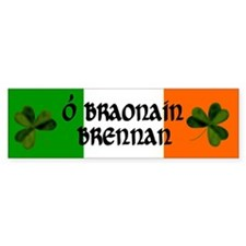 Brennan Coat of Arms Bumper Sticker