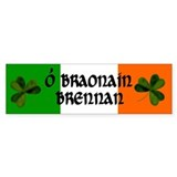Brennan Coat of Arms Bumper Stickers