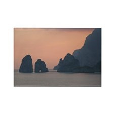 Capri Sunset Rectangle Magnet