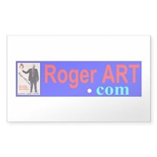 RogerART.com Rectangle Decal