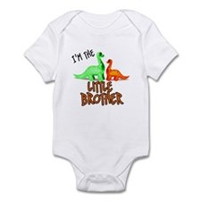 little brother dinosaur Infant Bodysuit