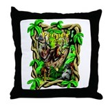 Peeper The Kinkajou Throw Pillow