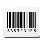 Bartender Barcode Mousepad