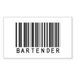 Bartender Barcode Rectangle Sticker 50 pk)