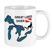 Great Lakes Scuba Mug