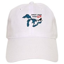 Great Lakes Scuba Baseball Cap
