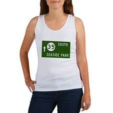 Seaside Park, NJ Parkway Exit Women's Tank Top
