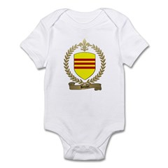 BOULET Family Crest Infant Creeper