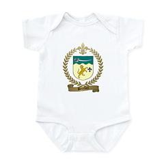 BOURDON Family Crest Infant Creeper