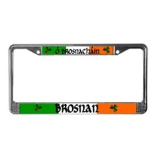 Brosnan Coat of Arms License Plate Frame