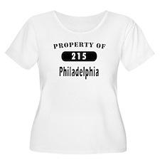 Philadephia PA T-shirts 215 A T-Shirt