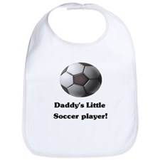 Daddy's Little Soccer Player! Bib