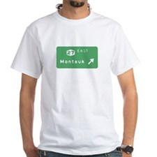 Montauk Exit Sign T-shirts Shirt