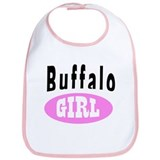 Buffalo NY Girl T-shirts Bib