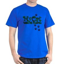 My Cat Walks All Over Me T-Shirt