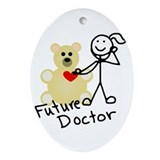 Future Doctor Oval Ornament