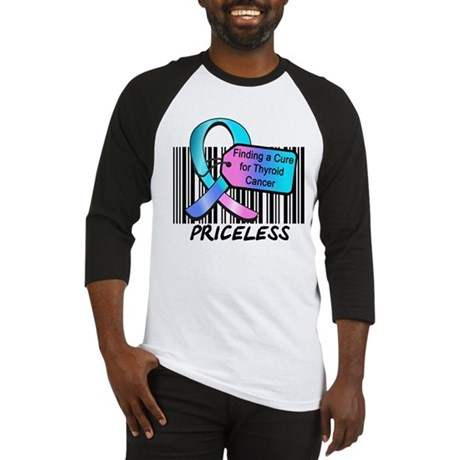 Thyroid Cancer Cure Baseball Jersey