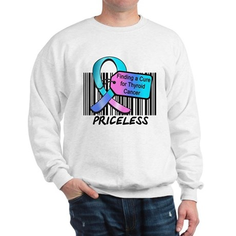 Thyroid Cancer Cure Sweatshirt
