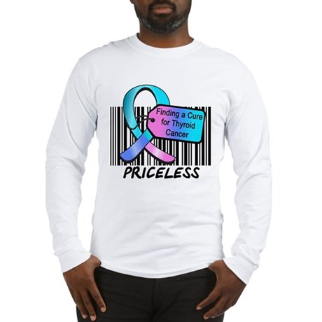 Thyroid Cancer Cure Long Sleeve T-Shirt