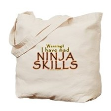 Mad Ninja Skills Tote Bag