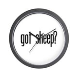 Got Sheep? Wall Clock