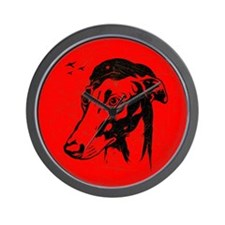 Obey the Greyhound! Revolution Wall Clock