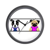 Zoie & Leah Wall Clock
