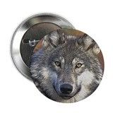 "Wolf Art 2.25"" Button"