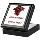 Grapes in Season! Keepsake Box