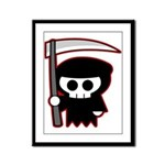 Grim Reaper Framed Panel Print