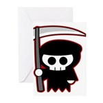 Grim Reaper Greeting Cards (Pk of 10)
