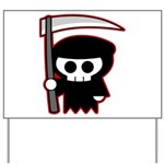 Grim Reaper Yard Sign