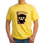 Grim Reaper Yellow T-Shirt
