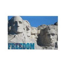 Freedom (Mount Rushmore) Rectangle Magnet