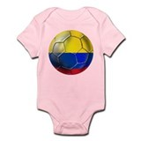 Colombian Soccer Futbol Infant Bodysuit