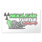 Nuclear Turtle Rectangle Decal