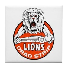 Lions Drag Strip Tile Coaster