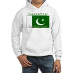 Pakistan Pakistani Flag Hooded Sweatshirt