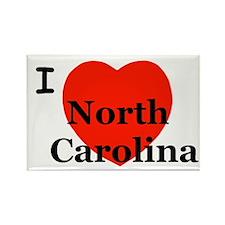 I Love North Carolina! Rectangle Magnet