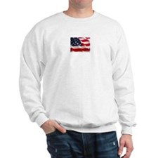 July 4th US Flag Sweatshirt
